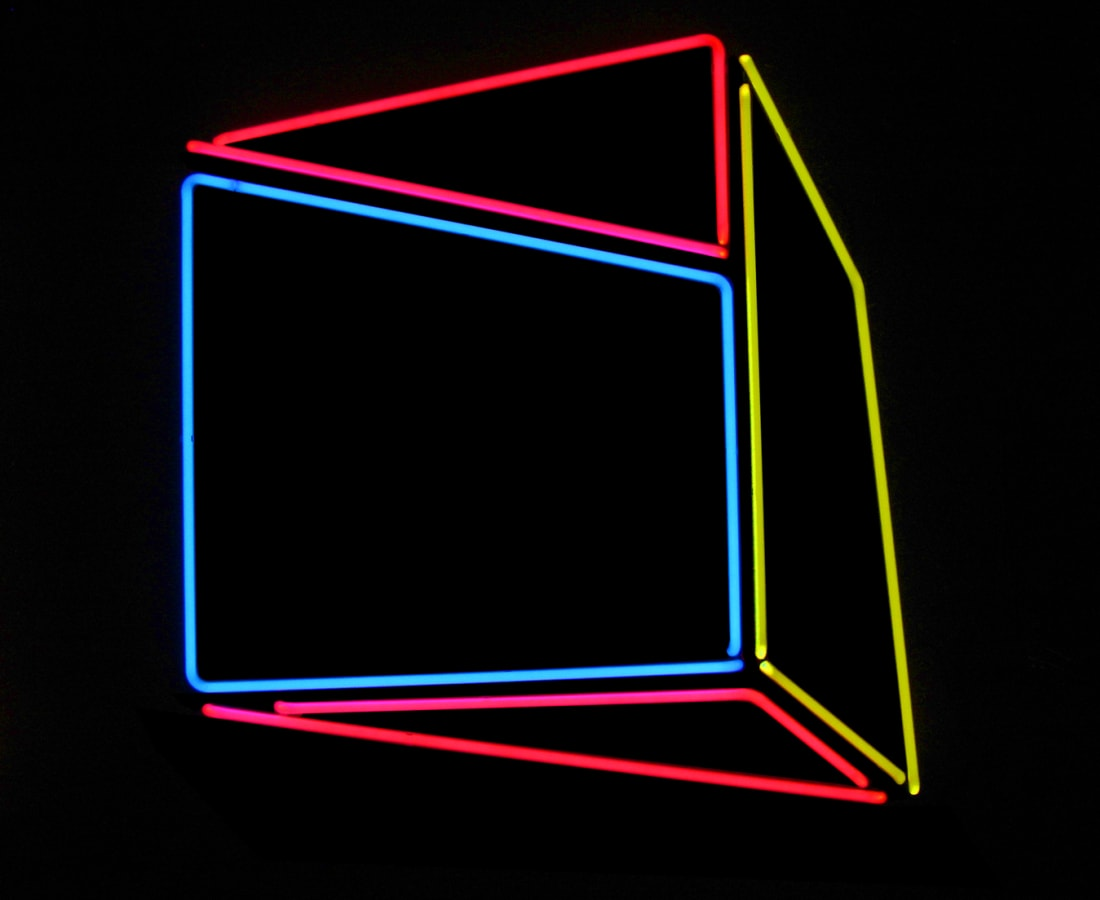 Anne Katrine Senstad, Soft Geometry Neon #04, 2015-2019