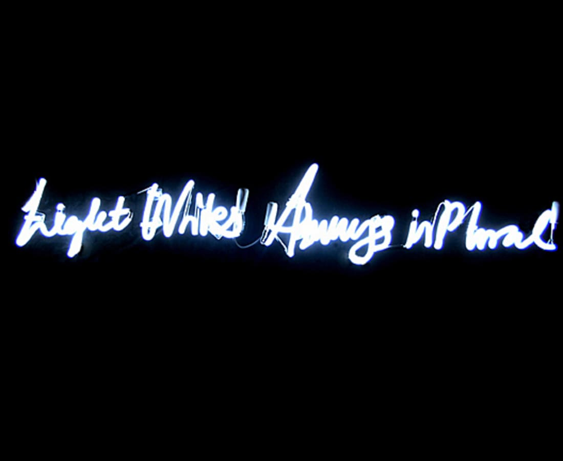 Anne Katrine Senstad, Light Writes Always in Plural(English), 2008