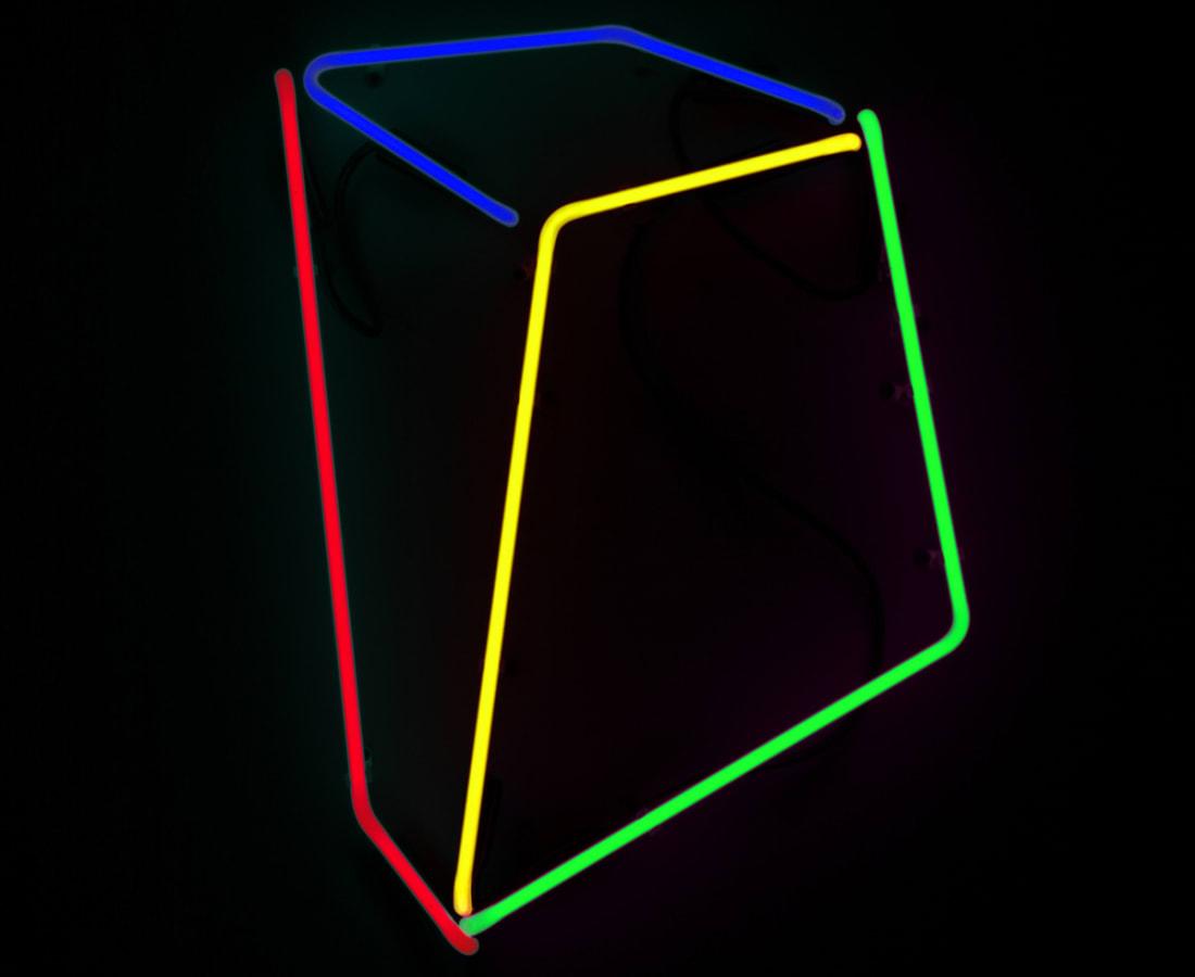 Anne Katrine Senstad, Soft Geometry Neon #12, 2015-2019
