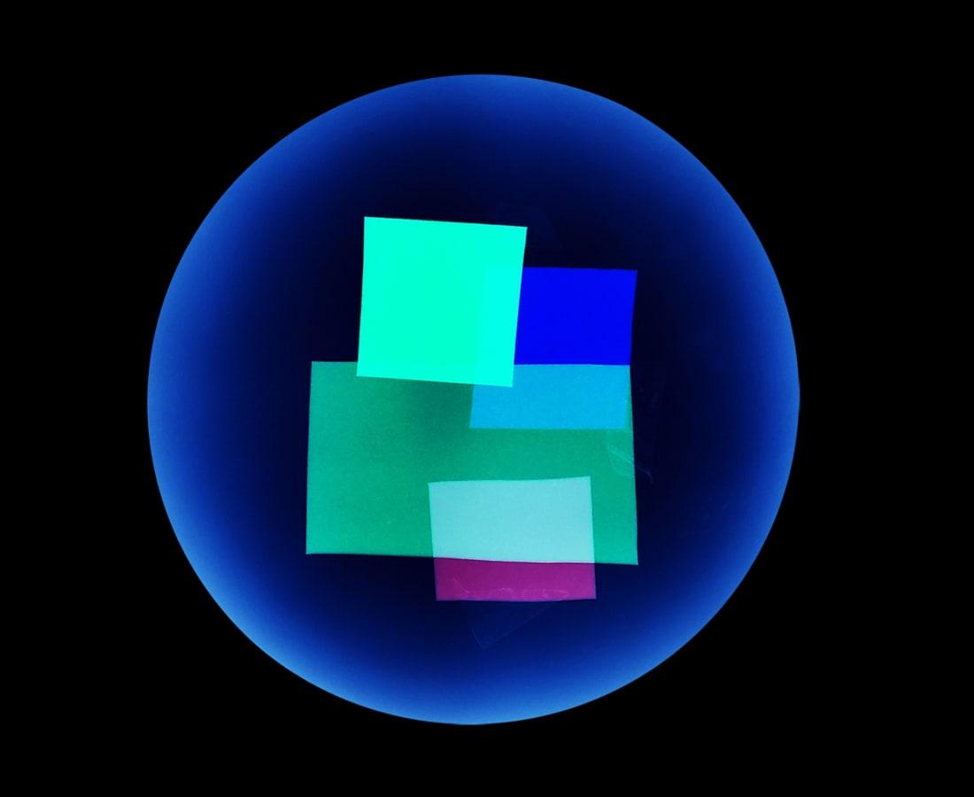 Anne Katrine Senstad, Soft Geometry #18e, 2015