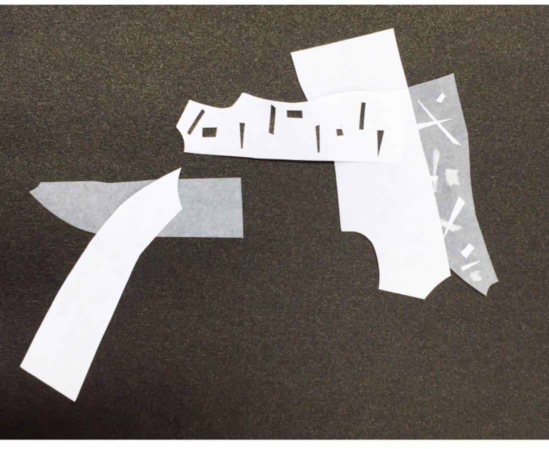 Victoria Borisova, Pattern Obsession Collage 7(Framed), 2016