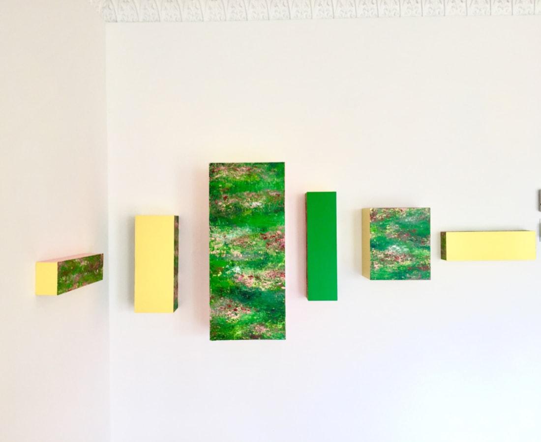 Victoria Borisova, Magic Color Bursts, 2017