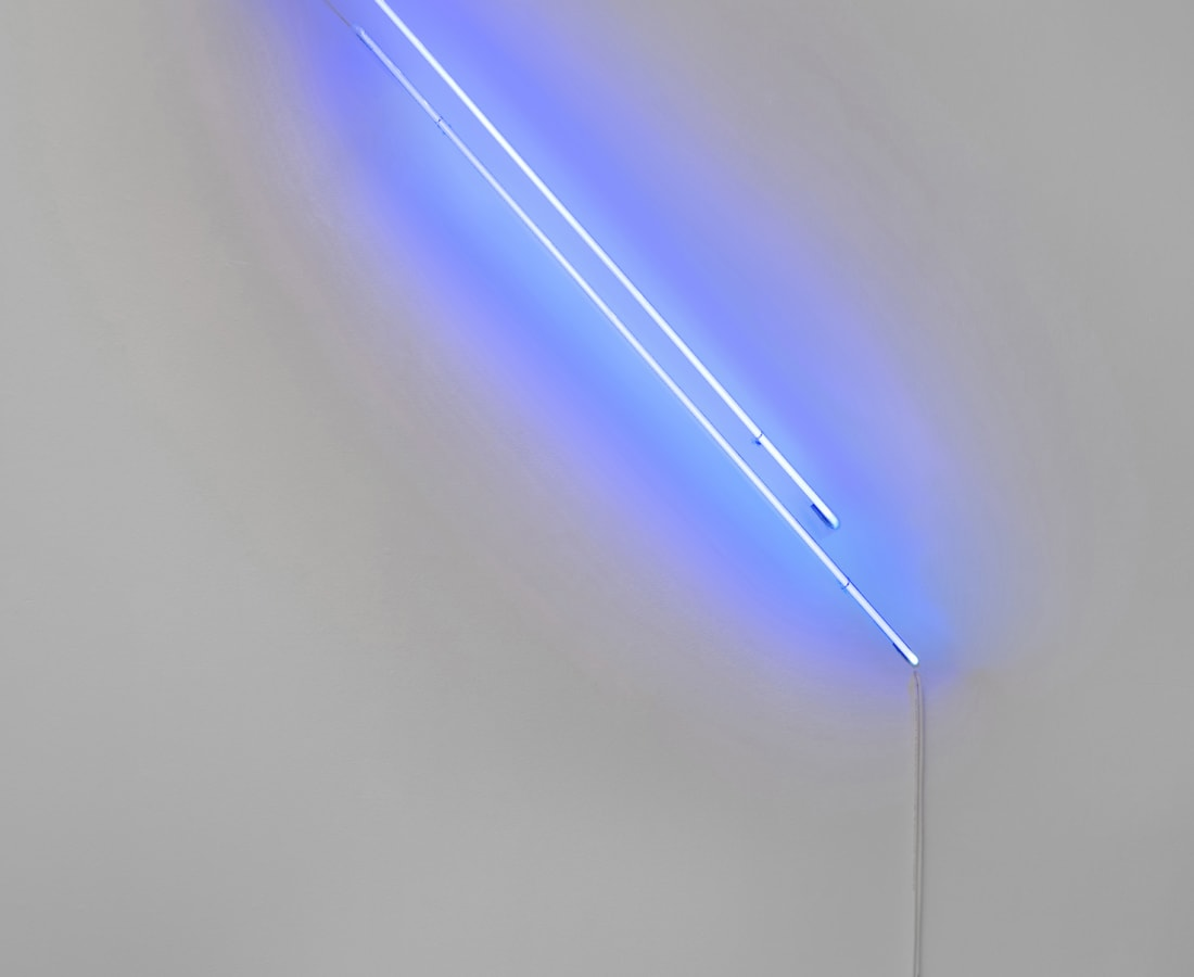 Anne Katrine Senstad, Ascension/Descension Graph 02 (Blue), 2020
