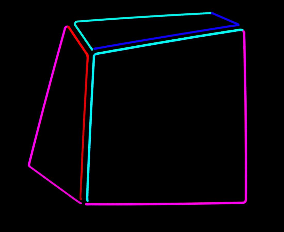 Anne Katrine Senstad, Soft Geometry Neon #010B, 2015-2019