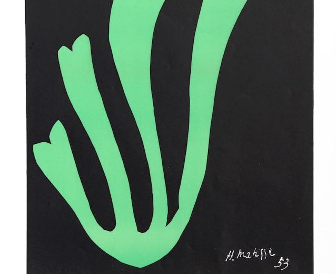"Henri Matisse, Lithographs and Vintage Posters, 50 Ans de ""Collages"", 1964"
