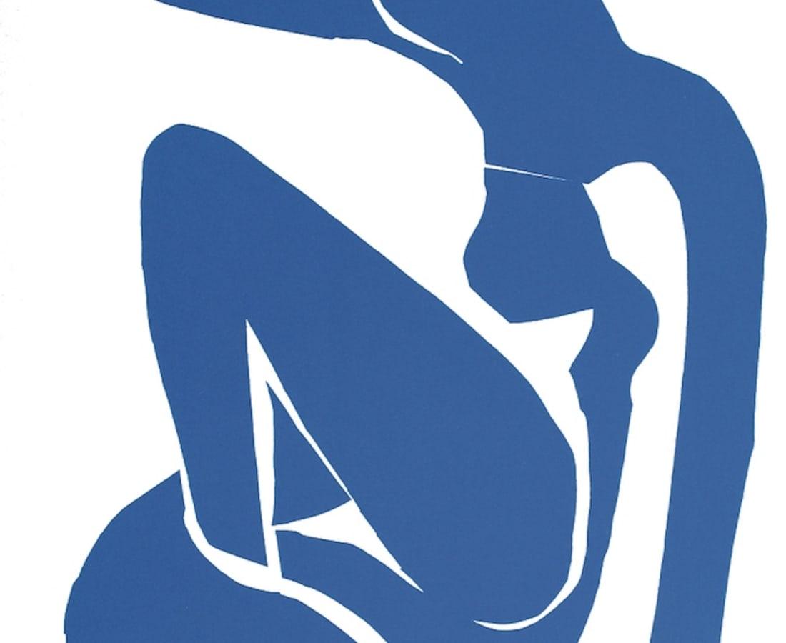 Henri Matisse, Lithographs and Vintage Posters, Nu Bleu VI - The Last Works of Henri Matisse, 1954