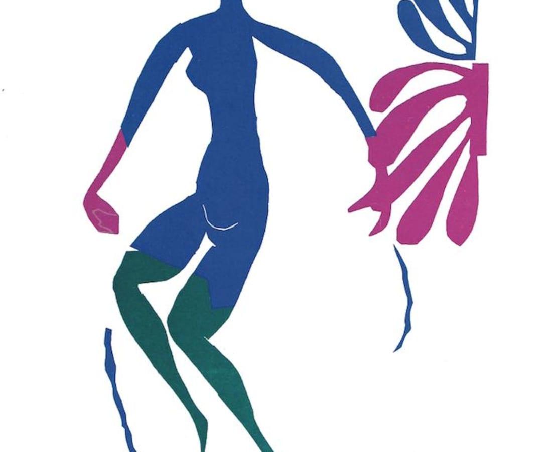 Henri Matisse, Lithographs and Vintage Posters, Nu Bleu V - The Last Works of Henri Matisse, 1954