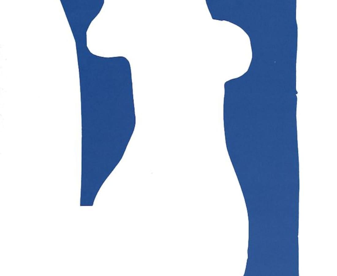 Henri Matisse, Lithographs and Vintage Posters, Nu Bleu VII - The Last Works of Henri Matisse, 1954