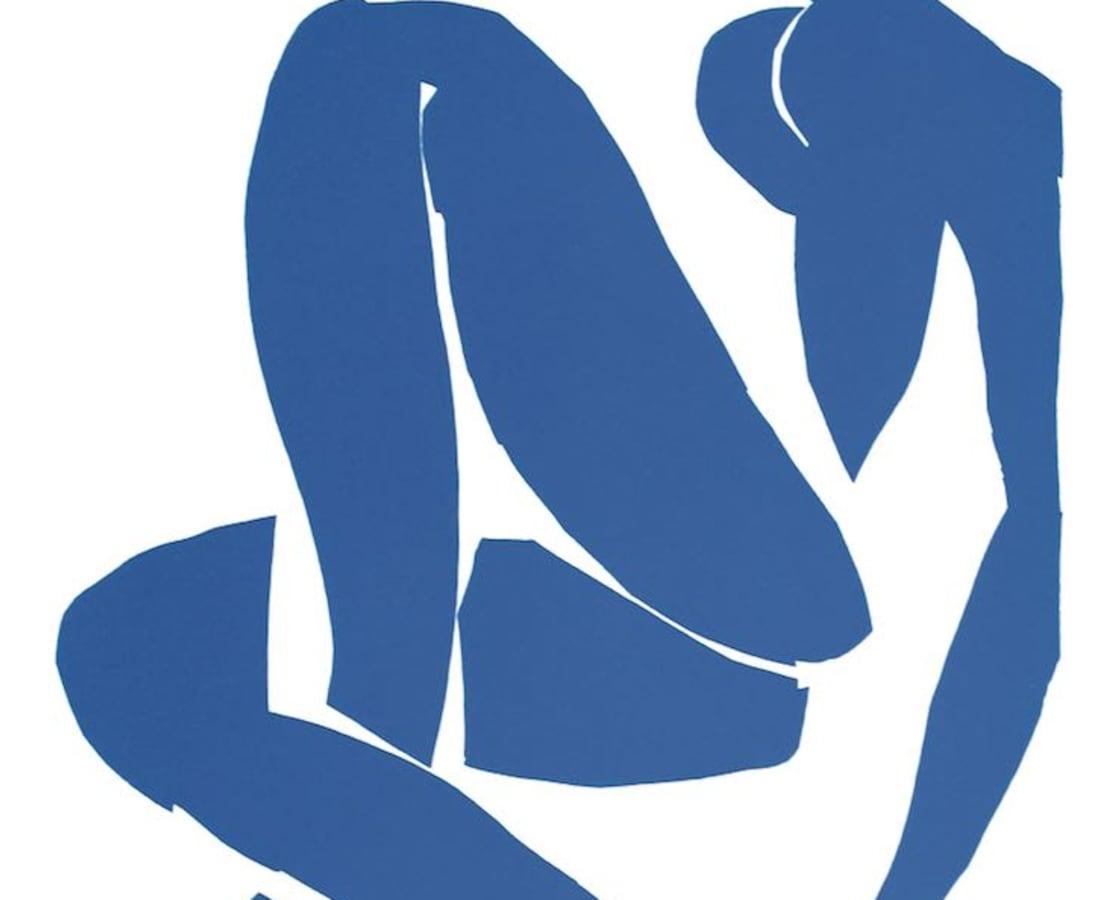 Henri Matisse, Lithographs and Vintage Posters, Nu Bleu III - The Last Works of Henri Matisse, 1954