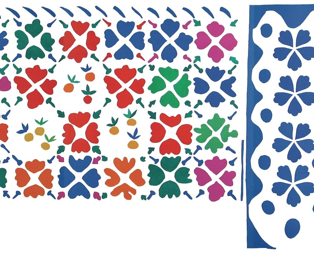 Henri Matisse, Lithographs and Vintage Posters, Décoration - Fruits - The Last Works of Henri Matisse, 1954