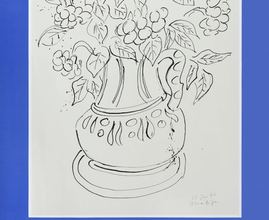 Henri Matisse, Lithographs and Vintage Posters, Galerie Dina Vierny, 1982