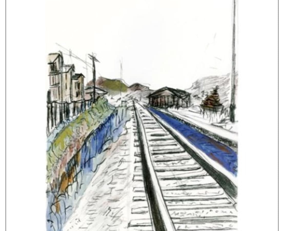 Bob Dylan, Train Tracks (white), 2010
