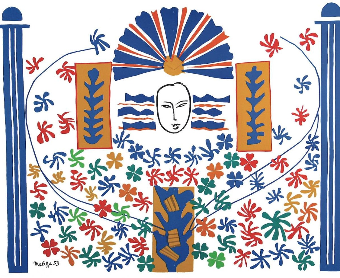 Henri Matisse, Lithographs and Vintage Posters, Apollon - The Last Works of Henri Matisse, 1954