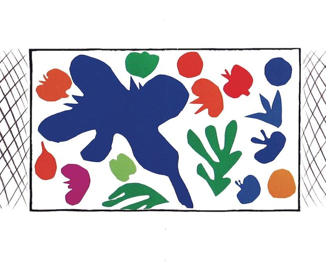Henri Matisse, Lithographs and Vintage Posters, Cocqueliots - The Last Works of Henri Matisse, 1954