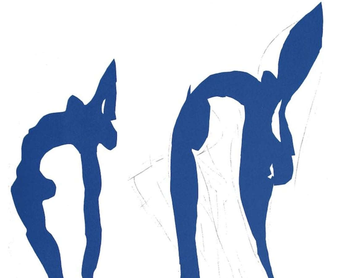 Henri Matisse, Lithographs and Vintage Posters, Acrobates - The Last Works of Henri Matisse, 1954