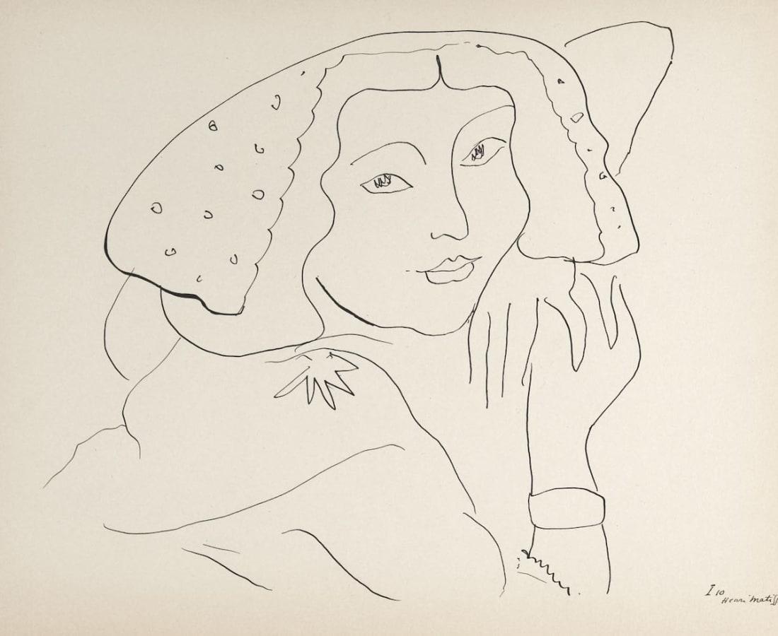 Henri Matisse, Lithographs and Vintage Posters, Untitled - Dessins, 1943