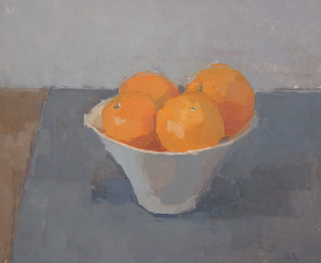 Sarah Spackman, 'Small Orange Bowl'