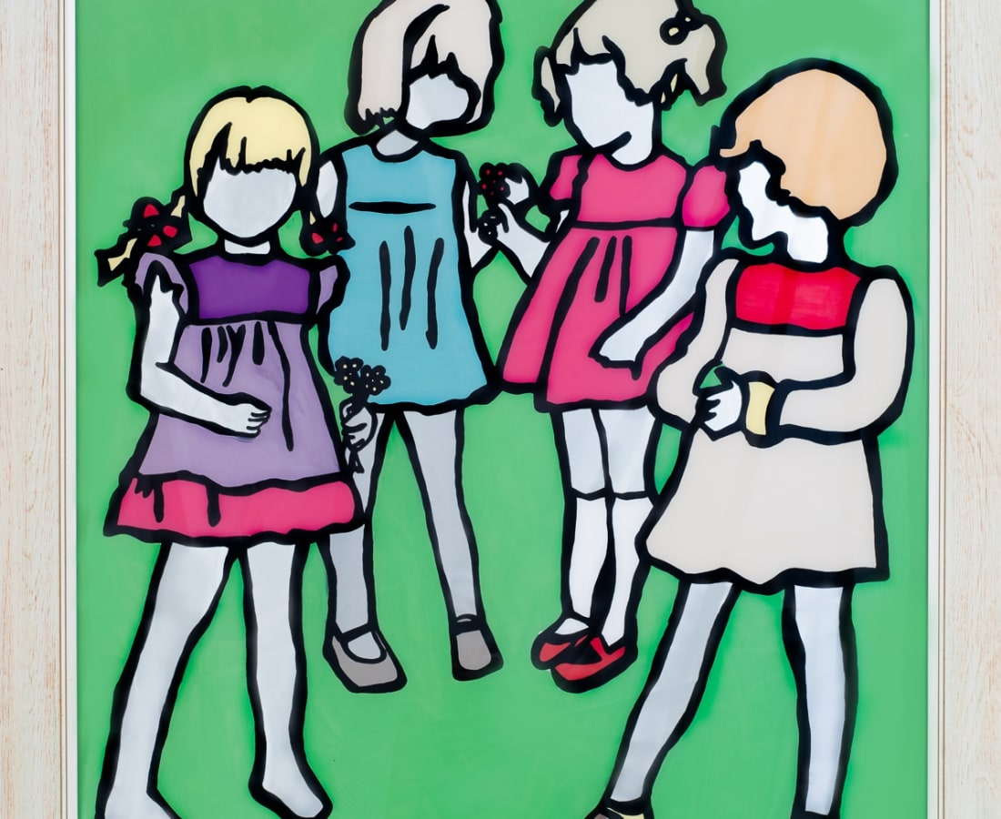 Athol Whitmore, 'Girls Gossip', 2016