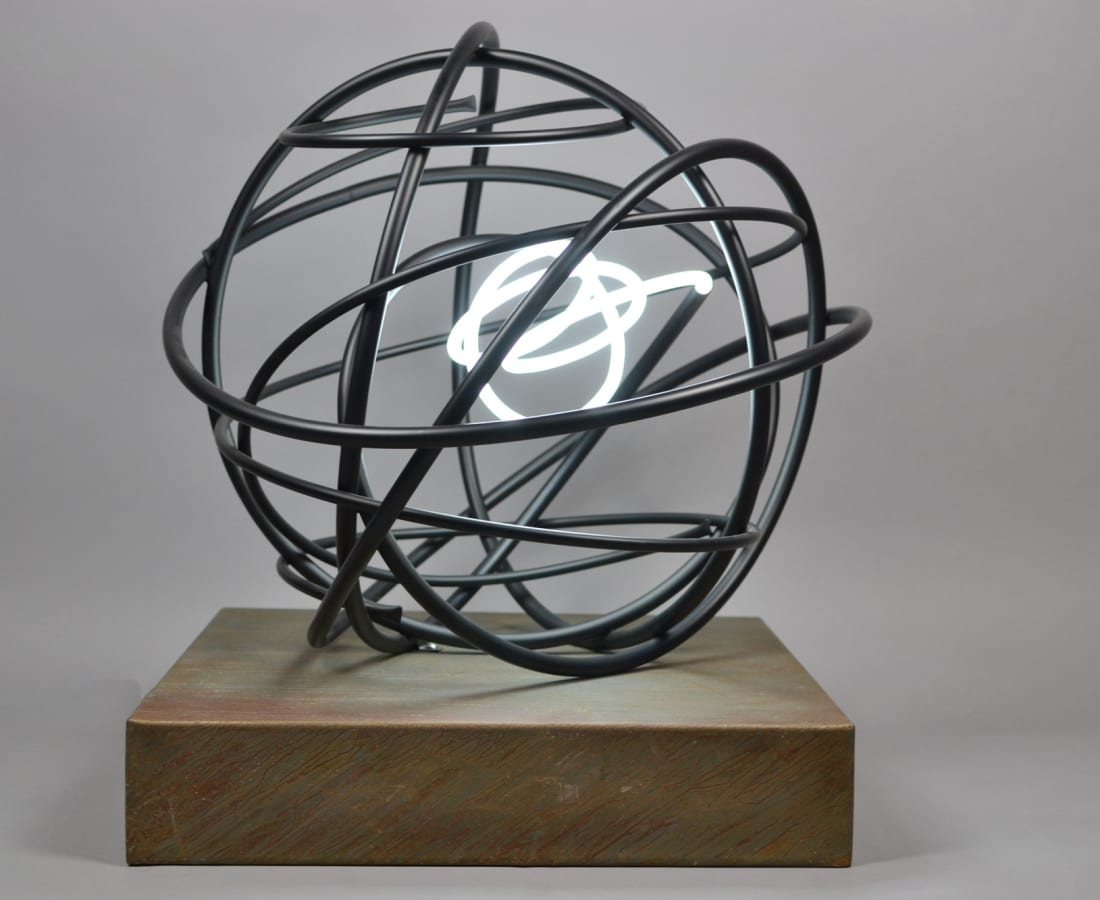 Mark Beattie, 'Neon Orb 163'