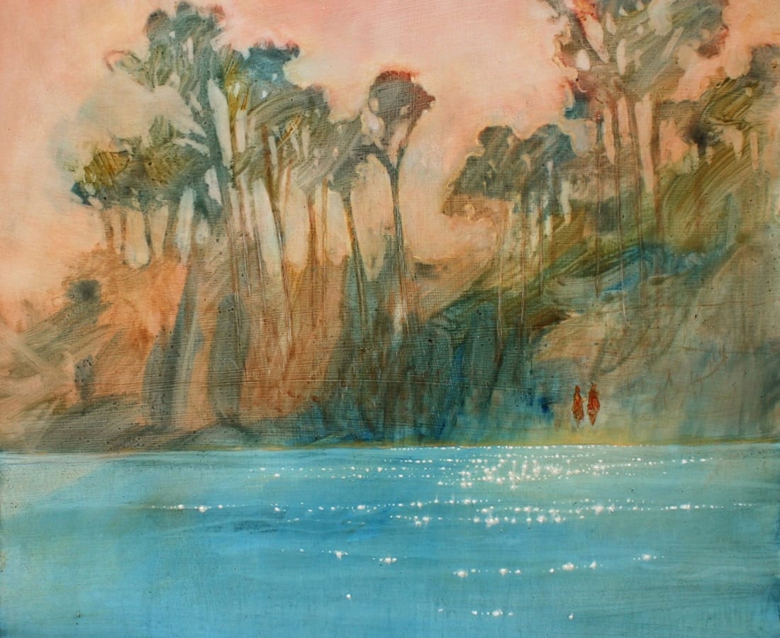 Daniel Ablitt, 'By The Shore' (Apricot Sky), 2016