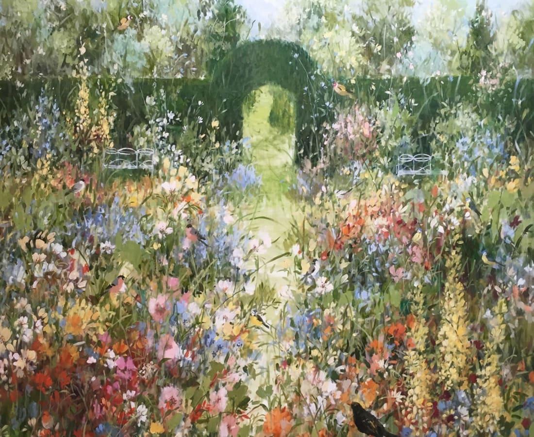 Fletcher Prentice, 'Summer Garden'