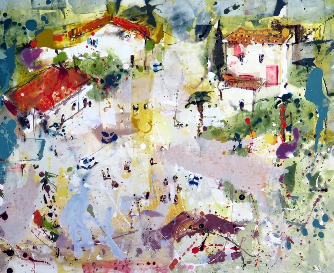 Andrew Hood, 'Forest Edge, Sicily'