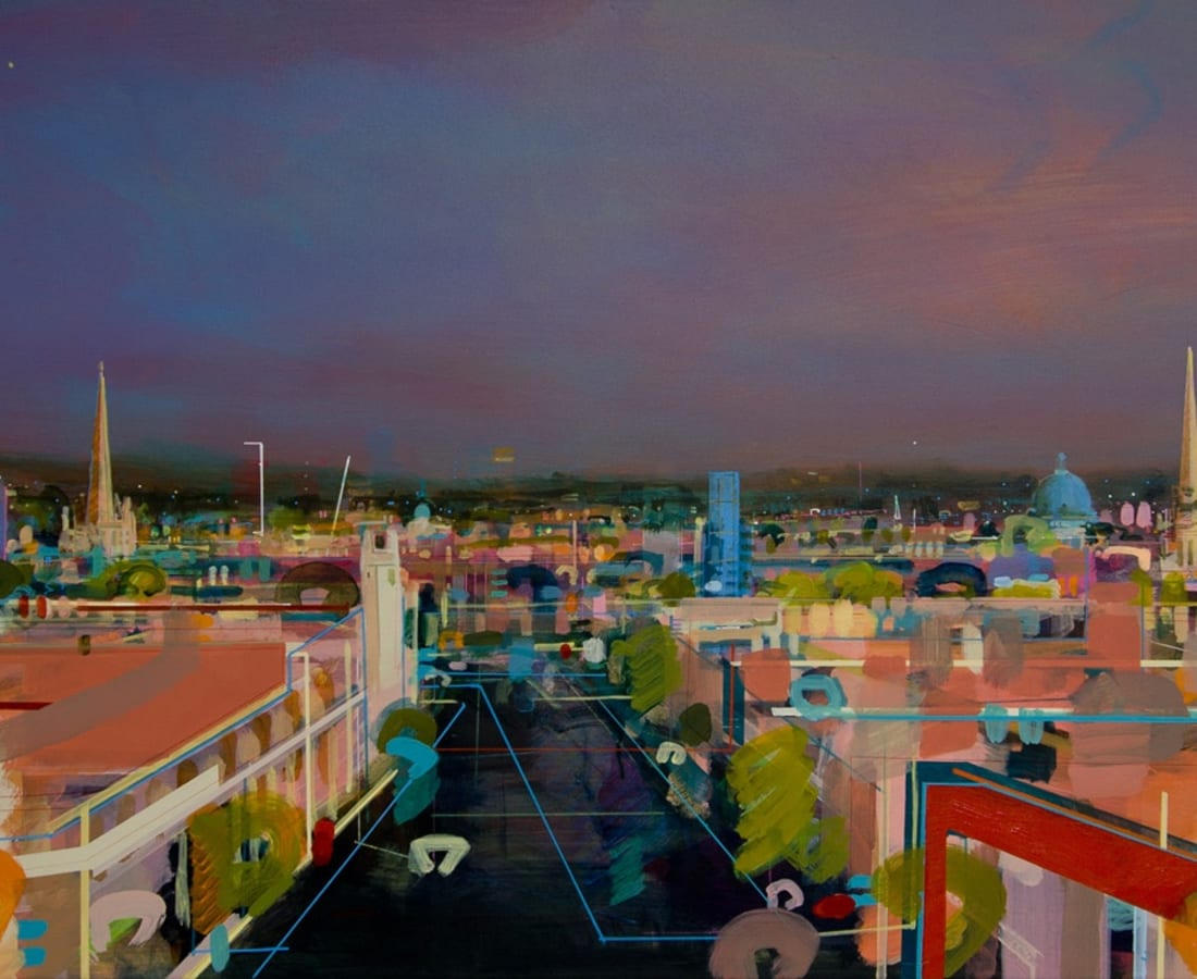 Christopher Farrell, 'View Over Castle Street'
