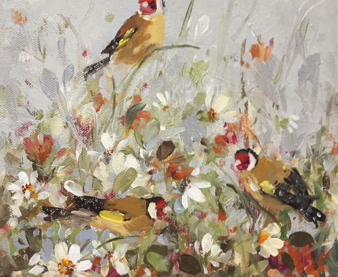 Fletcher Prentice, 'Goldfinches'