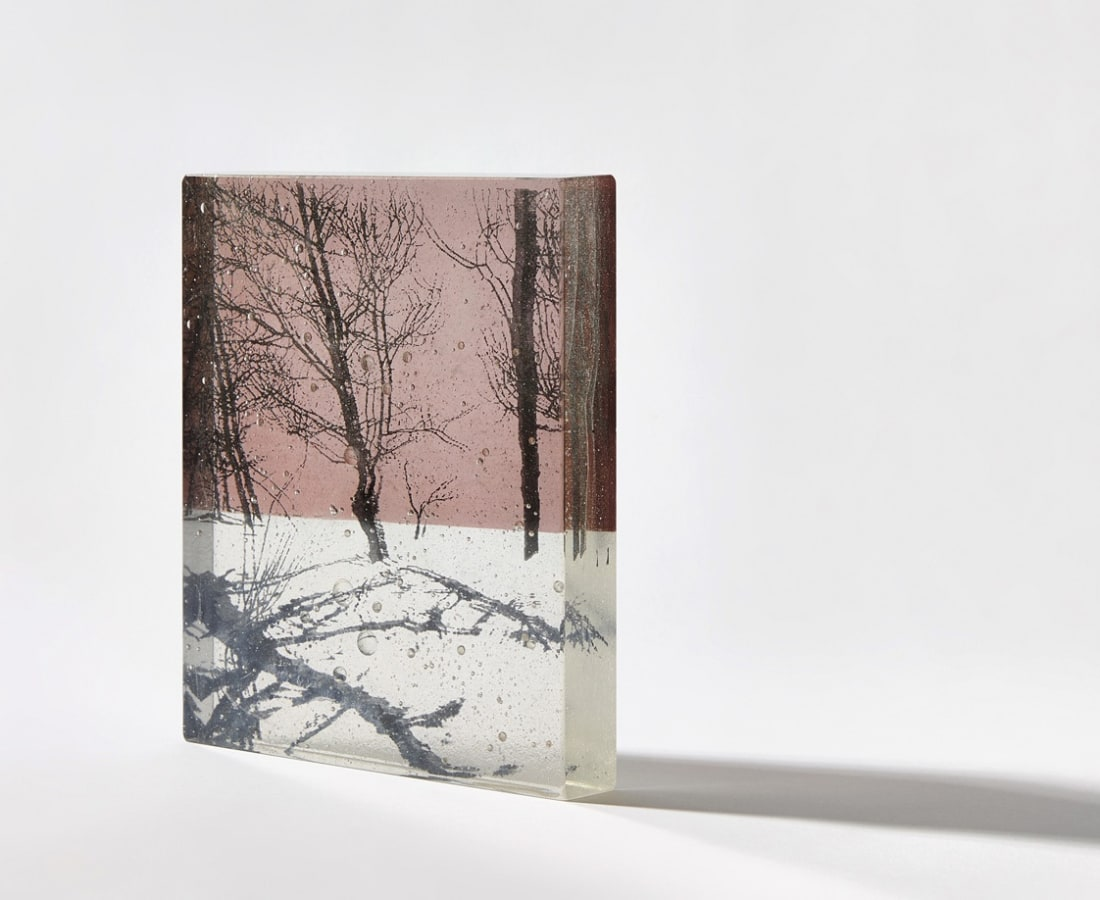 Helen Slater, Snow Shadows - Dusk Pink