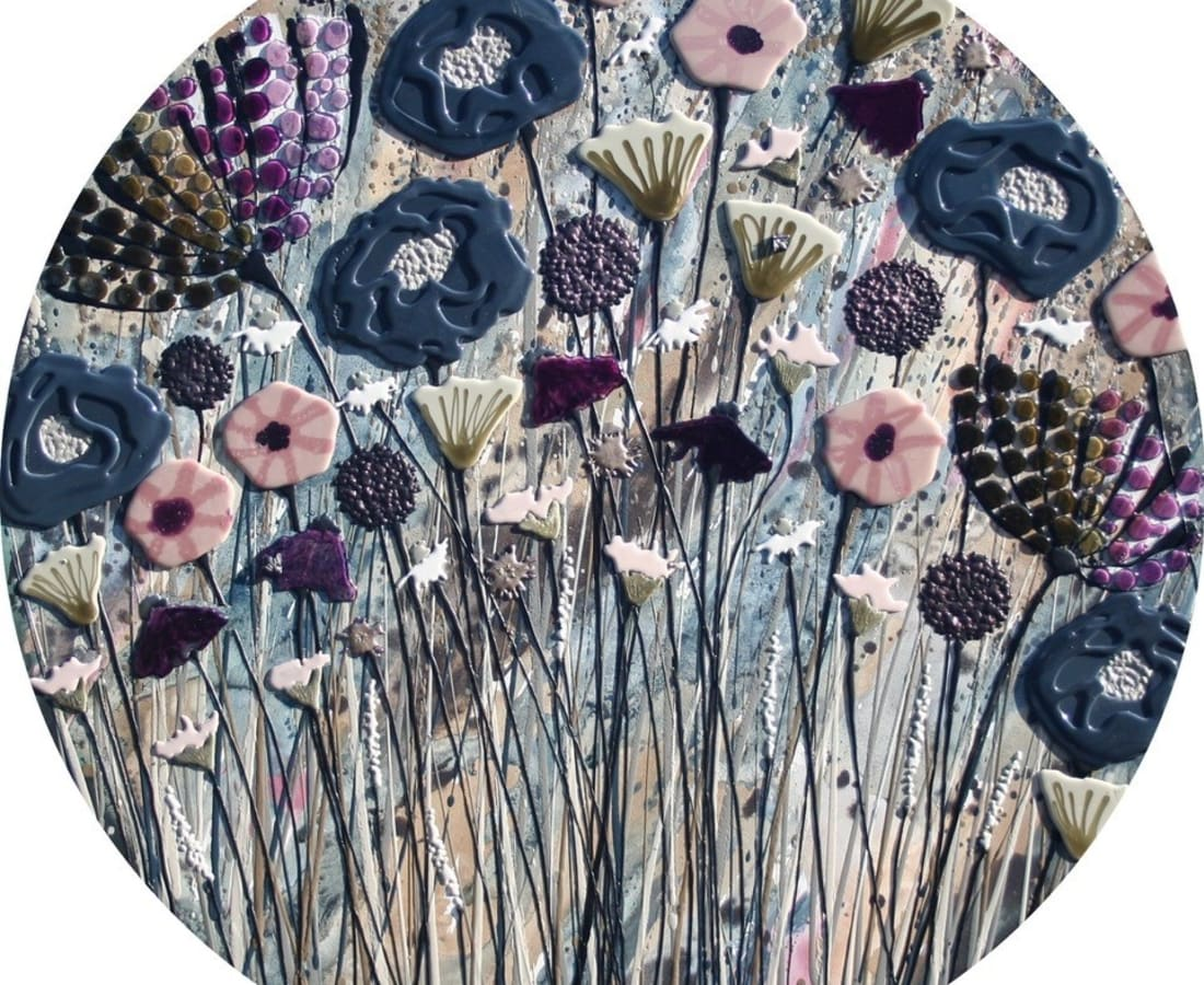 Sue Bartlett, Dark Blue Meadow