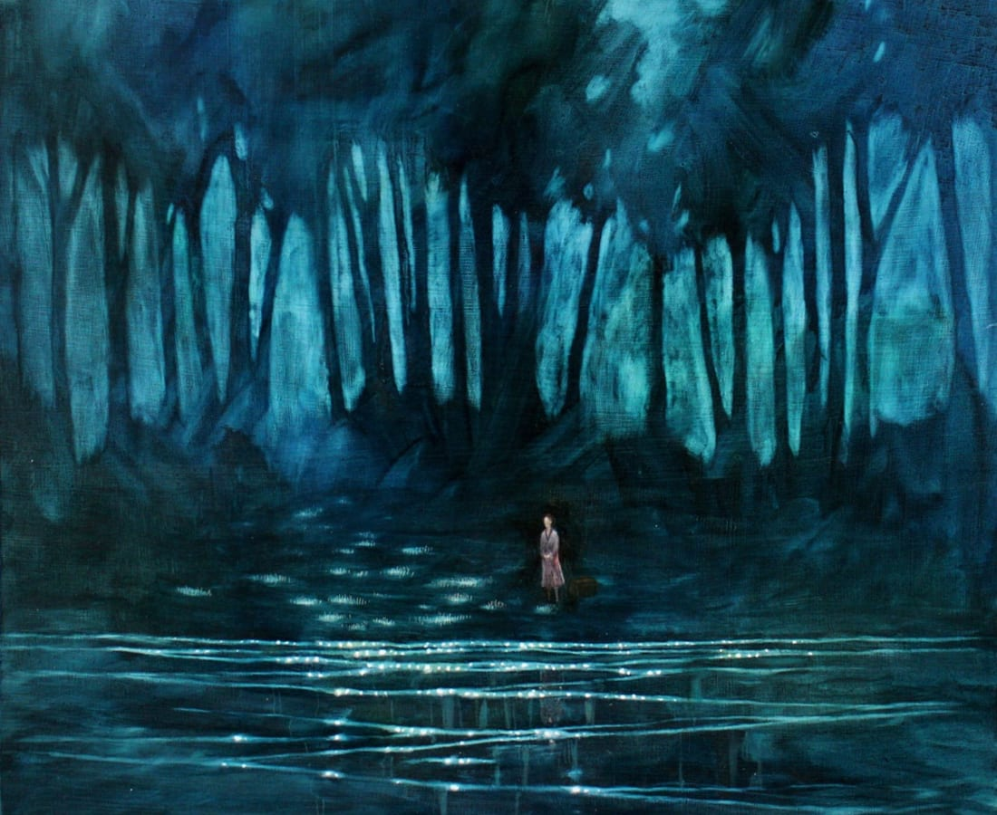 Daniel Ablitt, Waiting (Moonlit), 2016