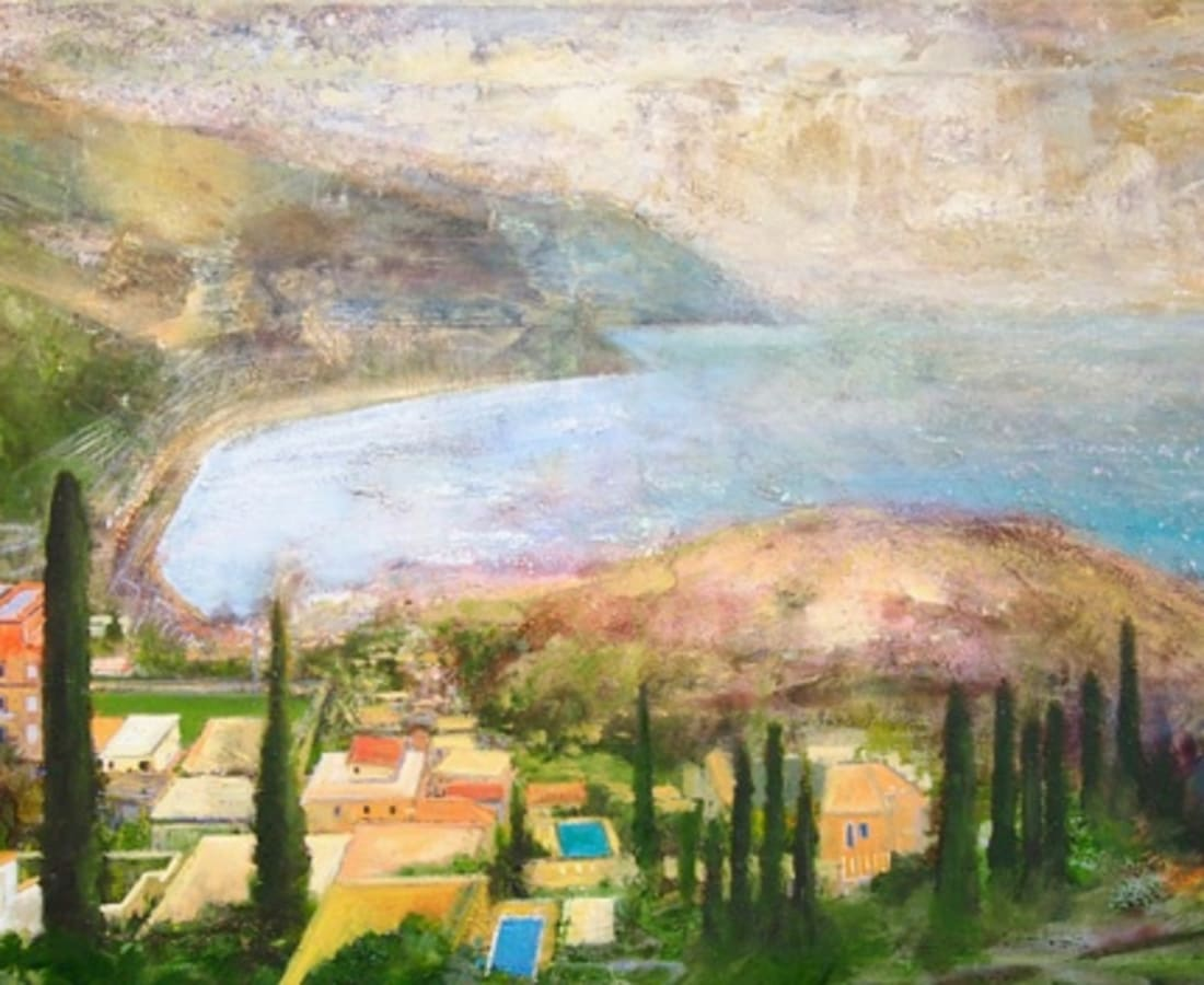 Peter Kettle, 'Sicily, Taormina - Looking Towards Spisone from the Ancient Theatre'