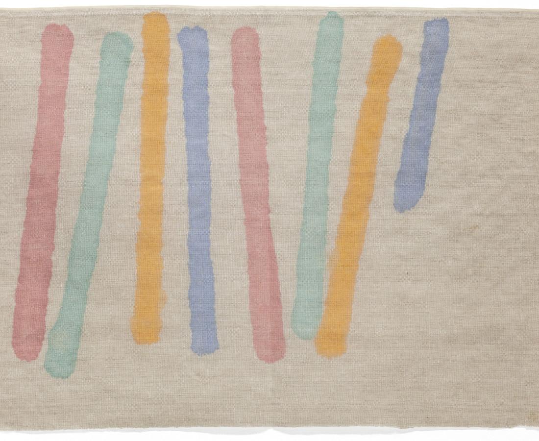 Giorgio Griffa, Quattro colori, 1978
