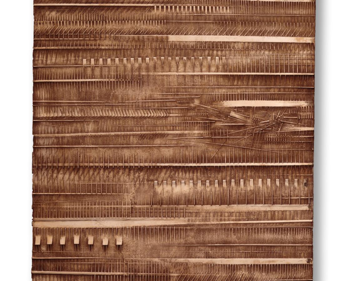 Arnaldo Pomodoro, Cronaca 2: Gastone Novelli, 1976