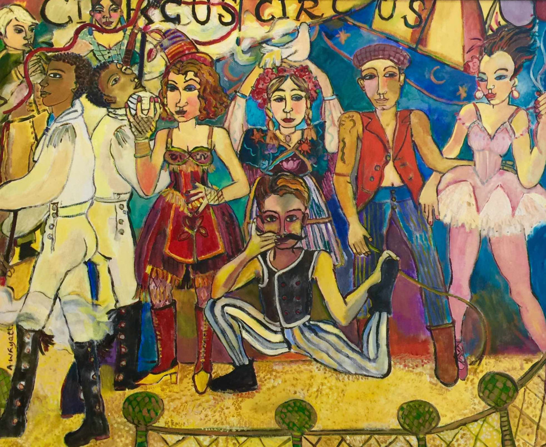 Anne Whyatt, The Circus Troupe