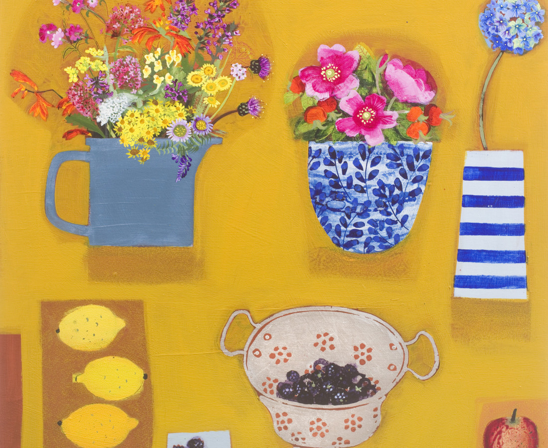 Emma Dunbar, September Yellow Painting
