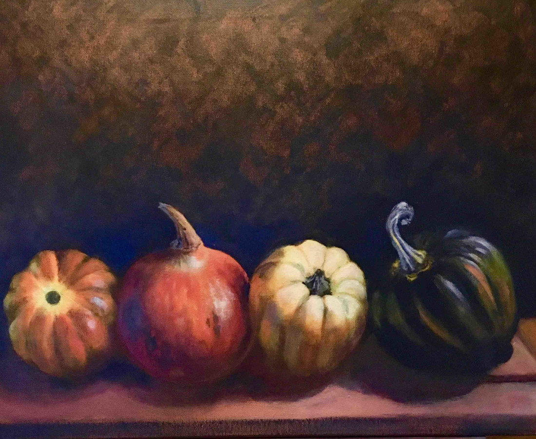 Joyce Pinch, Four Squash