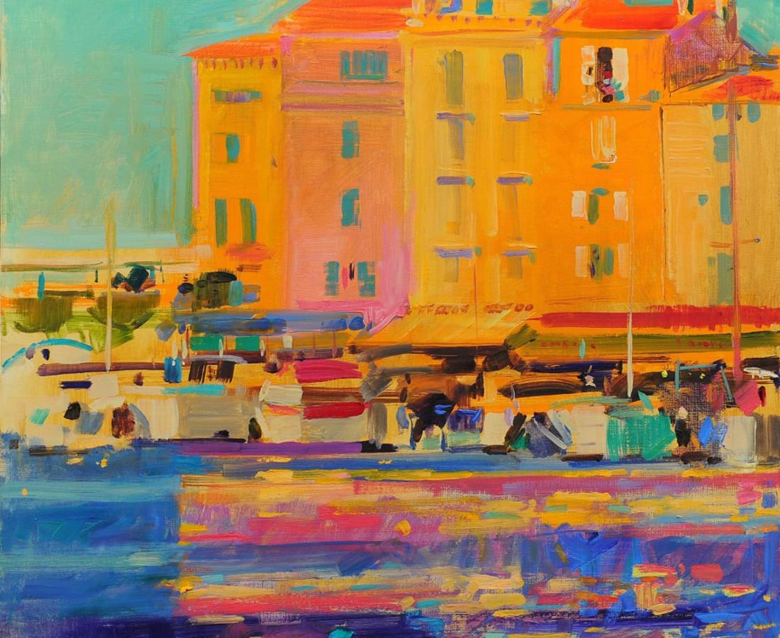 Peter Graham, Late Afternoon, Saint Tropez