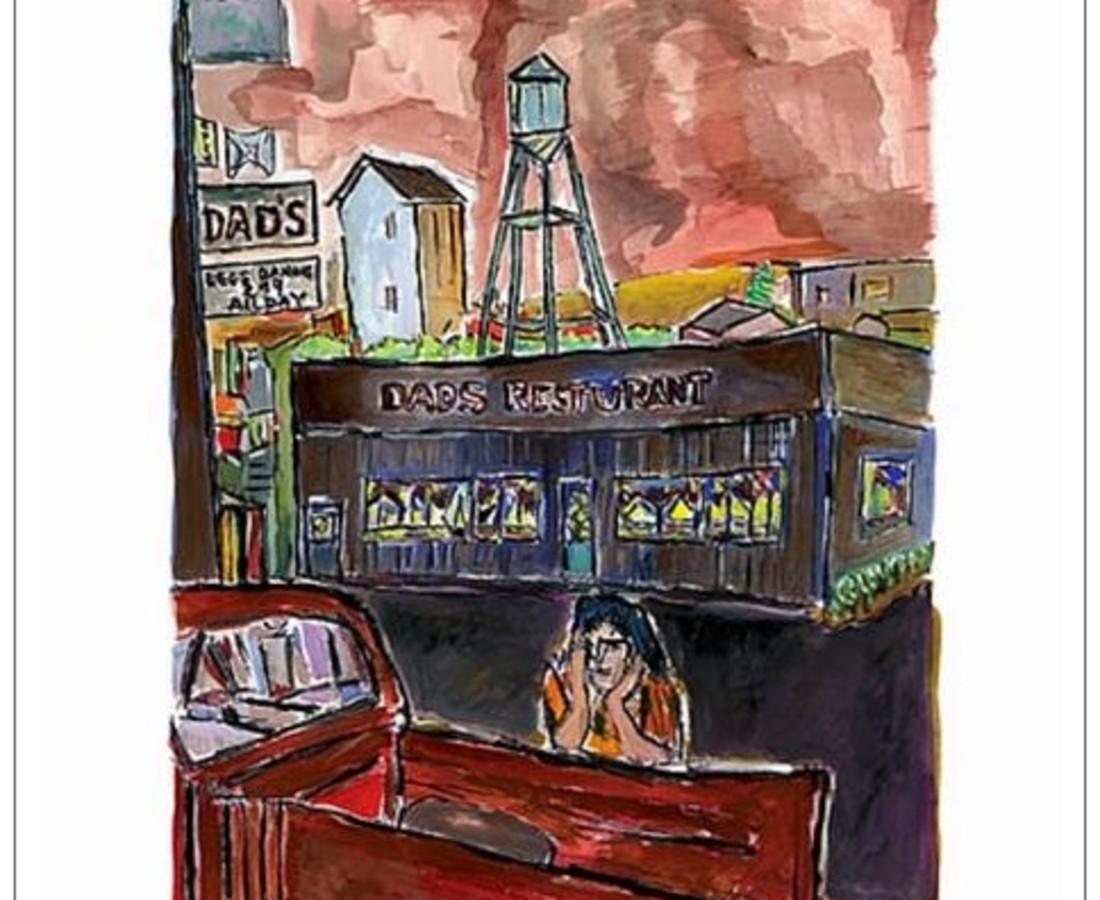 <span class=&#34;artist&#34;><strong>Bob Dylan</strong></span>, <span class=&#34;title&#34;><em>Dad's Restaurant</em>, 2008</span>