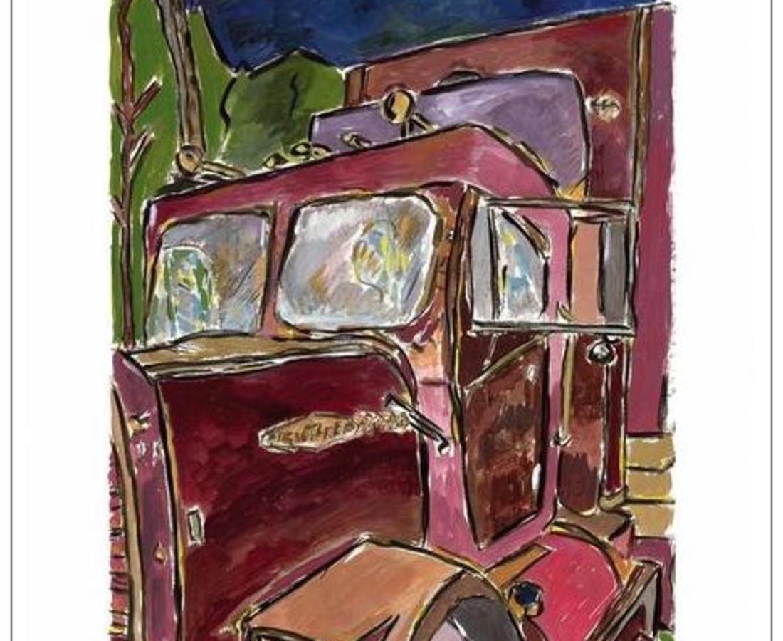 <span class=&#34;artist&#34;><strong>Bob Dylan</strong></span>, <span class=&#34;title&#34;><em>Truck (medium format)</em>, 2008</span>