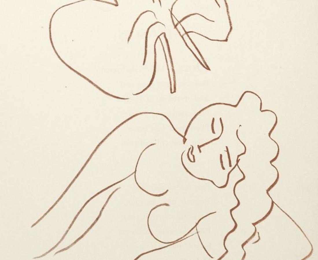 <span class=&#34;artist&#34;><strong>Henri Matisse, Lithographs and Vintage Posters</strong></span>, <span class=&#34;title&#34;><em>Untitled - Floril&#232;ge des Amours de Ronsard</em>, 1948</span>