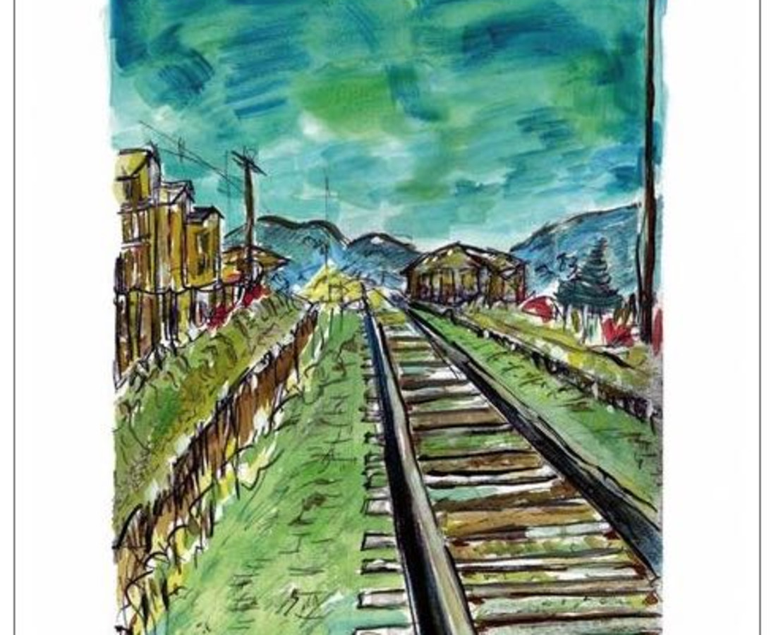 Bob Dylan, Train Tracks (medium format), 2008