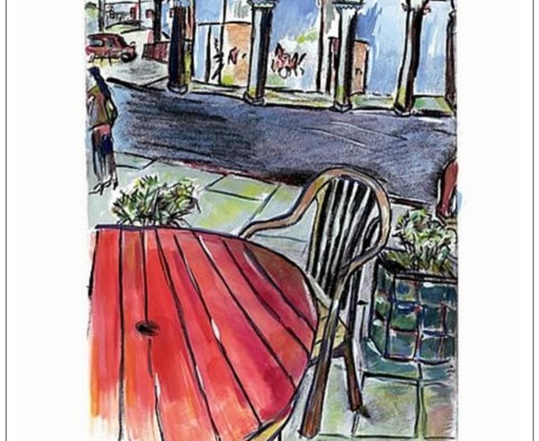 <span class=&#34;artist&#34;><strong>Bob Dylan</strong></span>, <span class=&#34;title&#34;><em>Sidewalk Cafe</em>, 2008</span>