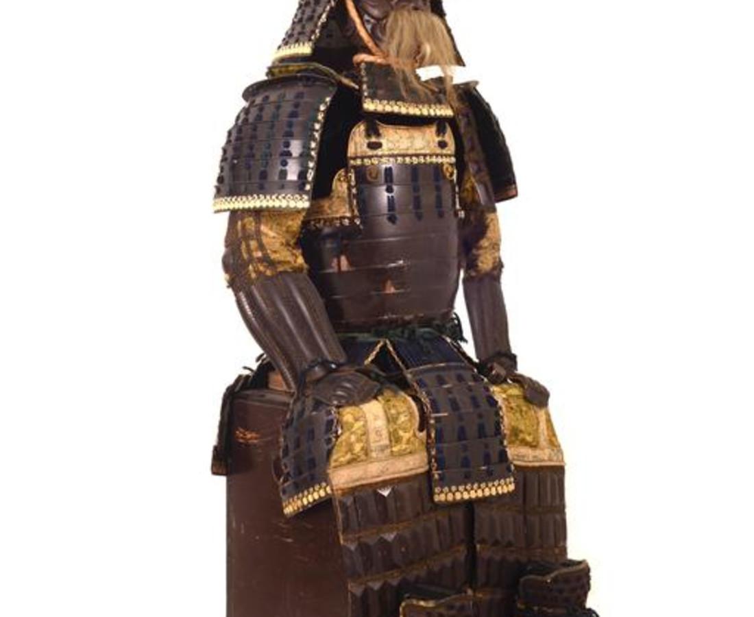 <span class=&#34;artist&#34;><strong>Katchu Shi</strong></span>, <span class=&#34;title&#34;><em>Hosokawa Clan Samurai Armor</em>, c. 1840</span>