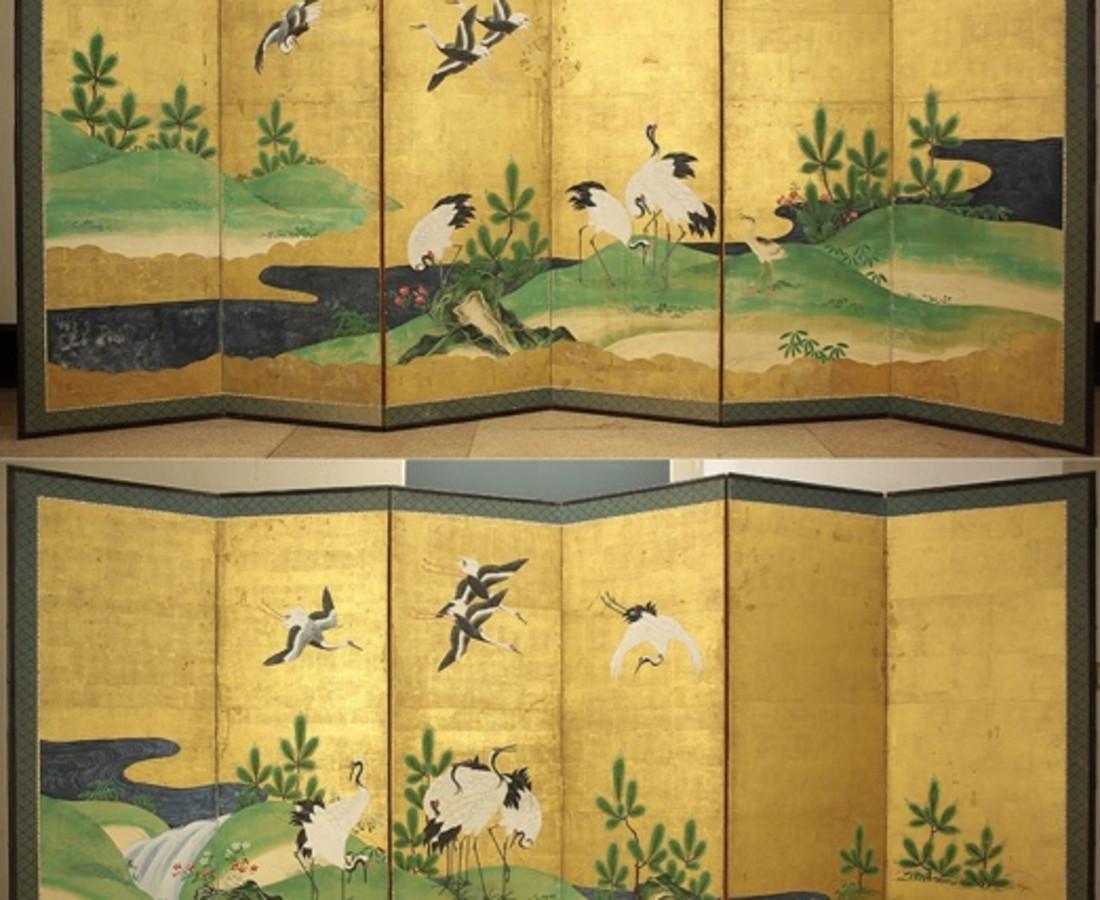 Crane Screen, c.1800