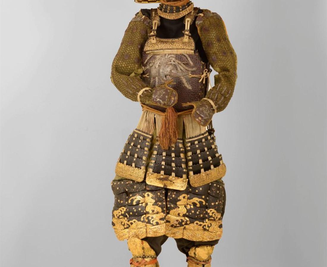 <span class=&#34;artist&#34;><strong>Katchu Shi</strong></span>, <span class=&#34;title&#34;><em>Spectacular Samurai armor from Kaga Province</em>, c. 1760</span>