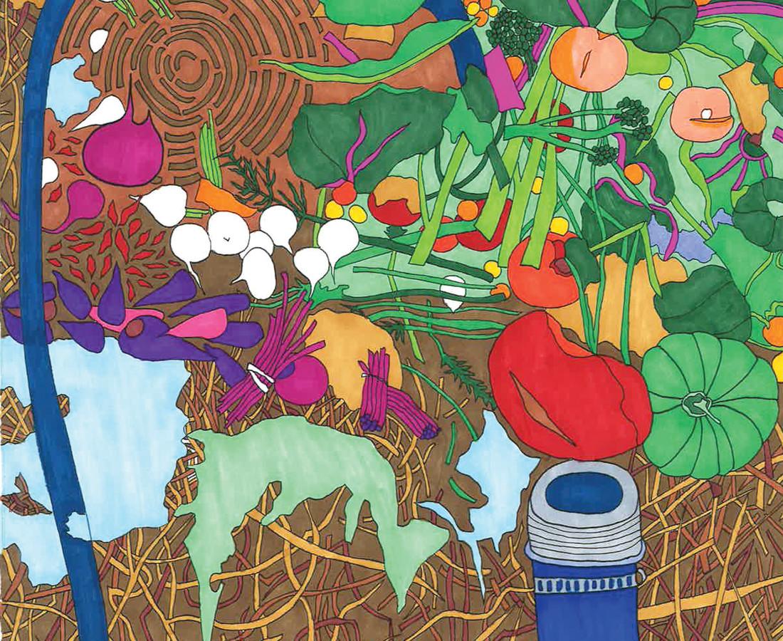 Liz Brindley, Compost, 2018
