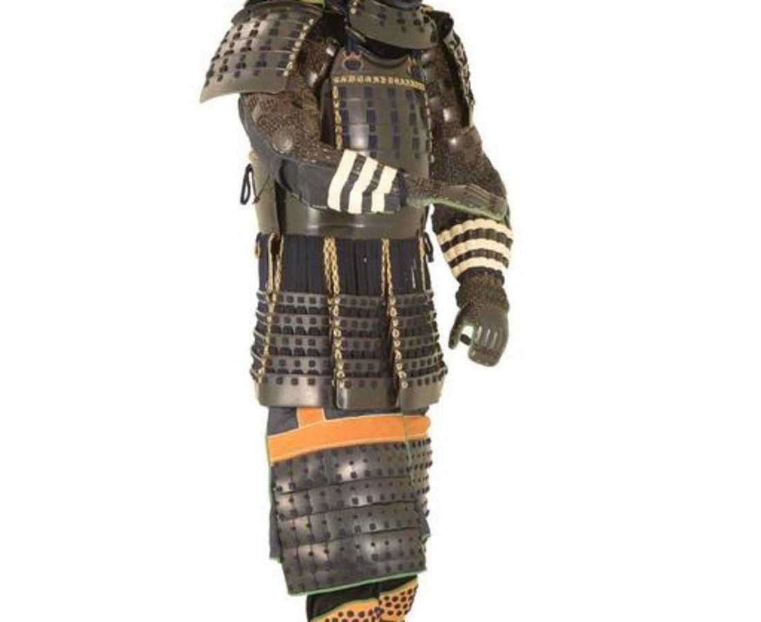 <span class=&#34;artist&#34;><strong>Myochin Muneharu</strong></span>, <span class=&#34;title&#34;><em>The real Last Samurai:  Shimazu clan Battle Armor made by Myochin Muneharu</em>, c. 1860</span>