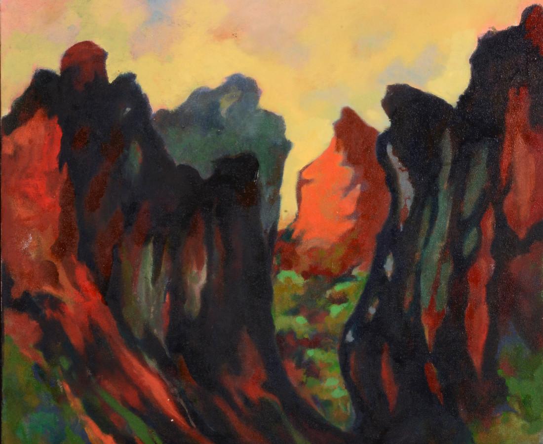 <span class=&#34;artist&#34;><strong>Michael Wright</strong></span>, <span class=&#34;title&#34;><em>Diablo Canyon VI</em>, 2017</span>