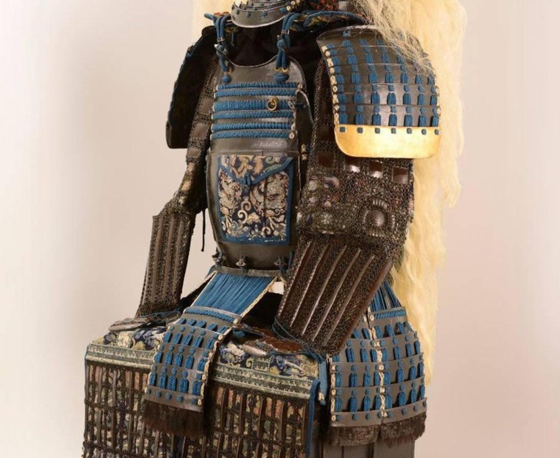<span class=&#34;artist&#34;><strong>Katchu Shi</strong></span>, <span class=&#34;title&#34;><em>Spectacular Japanese Samurai Armor in the style of a legendary warrior</em>, c. 1800</span>